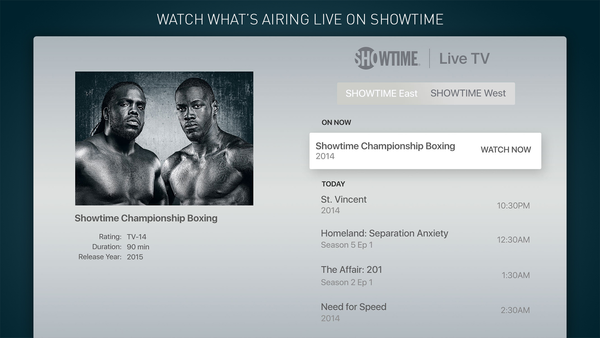 SHOWTIME: TV, Movies and More screenshot 13
