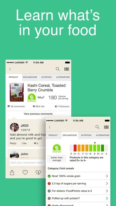 Fooducate Healthy Weight Loss screenshot