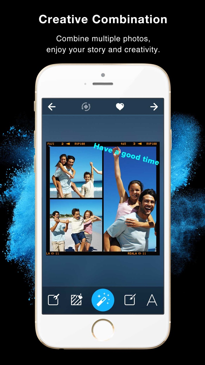 Framatic - Photo Collage Pic Editor for Instagram Screenshot