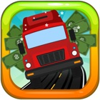 Money Bus Furious - The Fast Zigzag Highway Free Game icon
