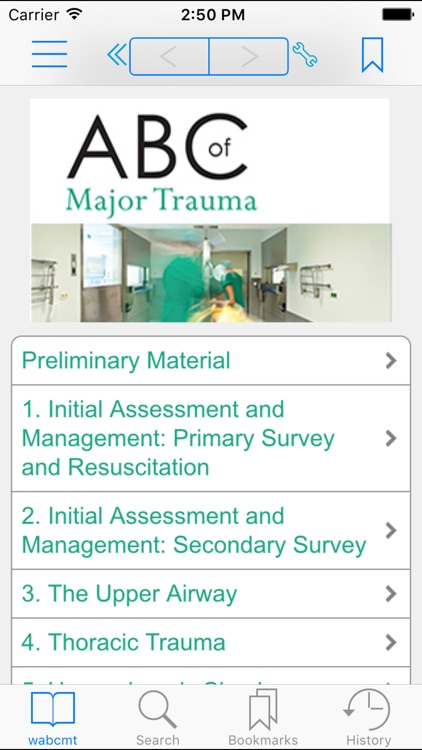ABC of Major Trauma, 4th Edition screenshot-0