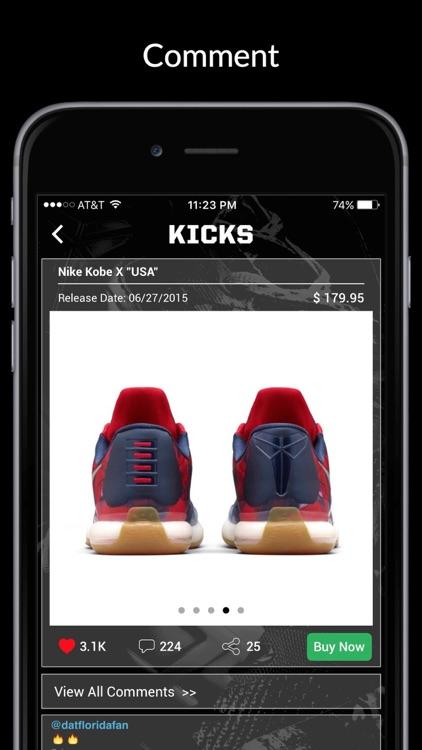 Kicks: Release Dates & Sneaker News screenshot-3