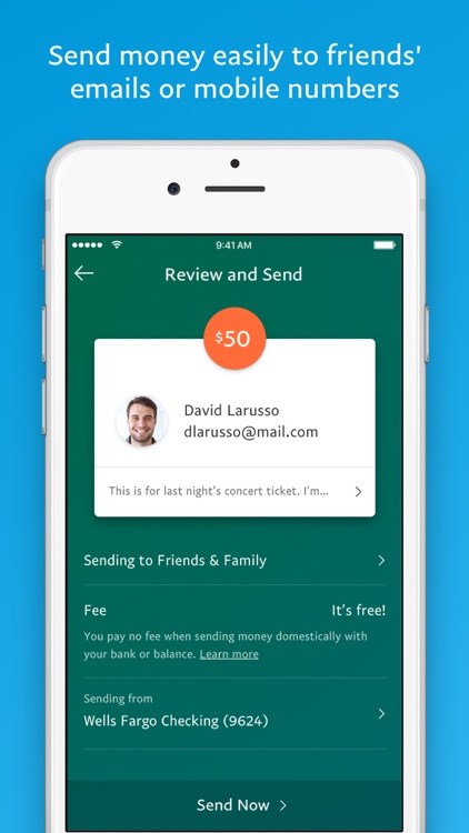 PayPal - Send and request money safely app image