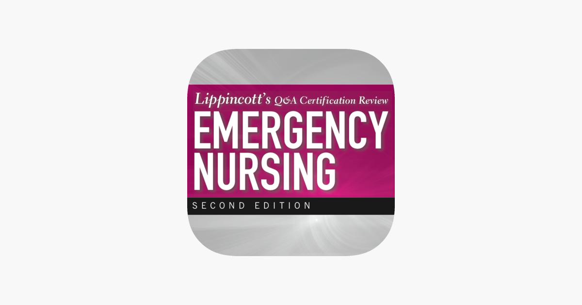 Emergency Nursing Lippincott Qa Certification Review Im App Store