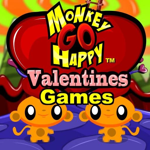 Monkey GO Happy Valentines Games