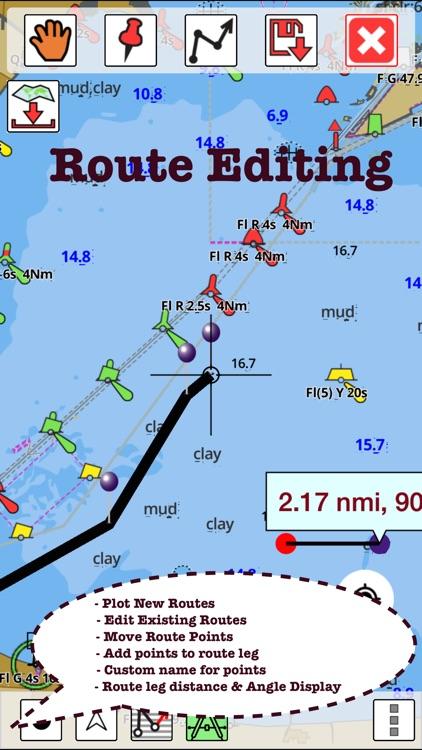 Marine Navigation - Lake Depth Maps - USA - Offline Gps Nautical Charts for Fishing, Sailing and Boating screenshot-3