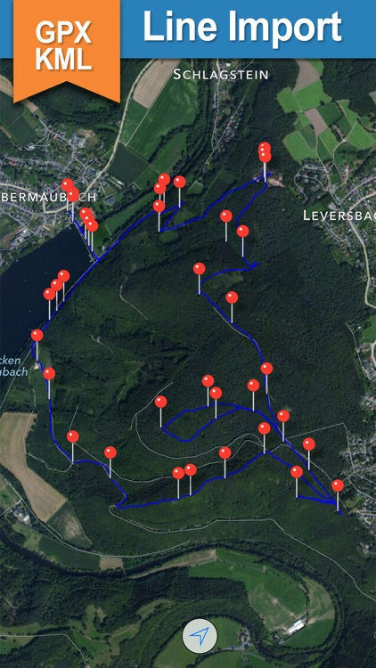 GPX KML KMZ Viewer and Converter on gps map