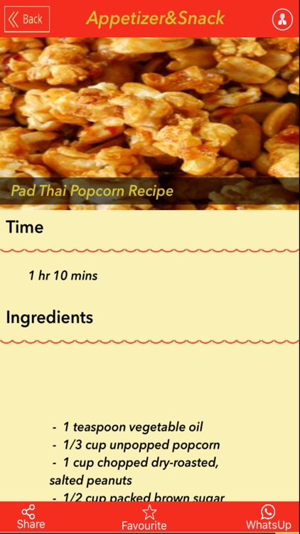 3000+ Appetizer & Snack Recipe screenshot-4