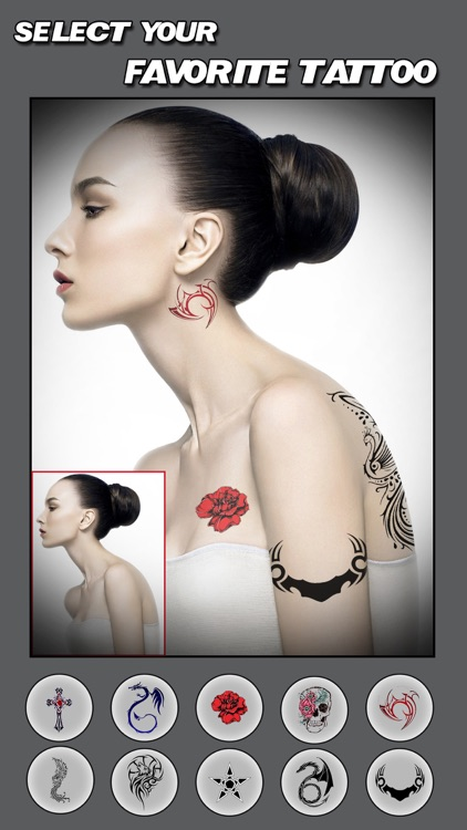 Artist Tattoo Designs Pro - Body Art Ink Salon & Color Tats Camera screenshot-3