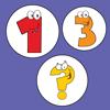 Sortieren anzahl - Zahlen lernen für kinder