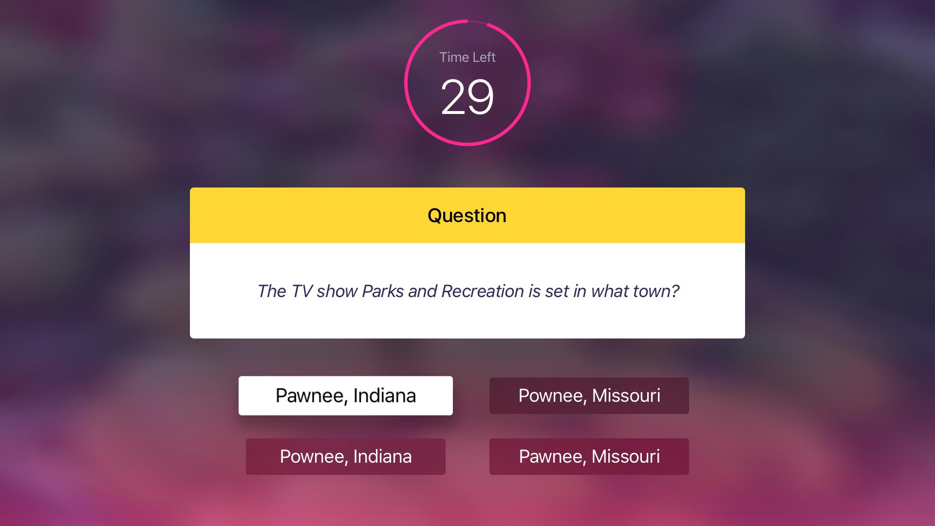 CouchQuiz Multiplayer Trivia screenshot 4