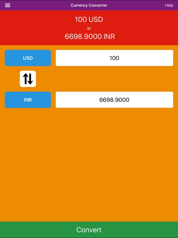 Screenshot 1 For Currency Converter Calculate And Convert Free Live 169 Countries