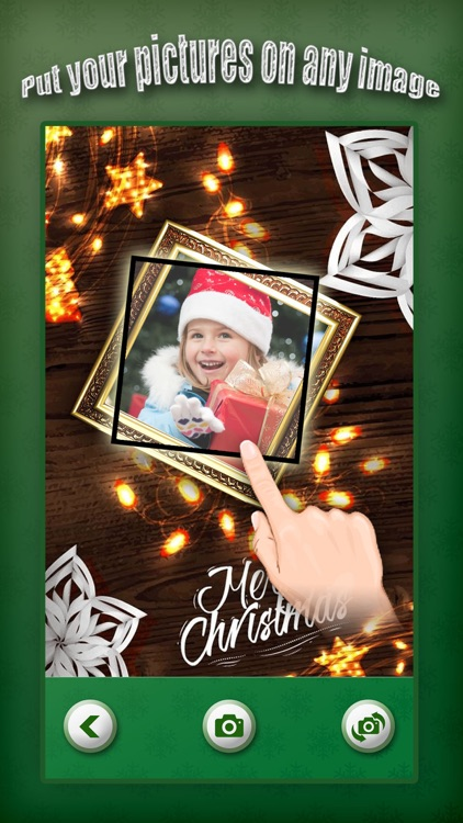Christmas Photo Collage & Cards Maker Pro - Mail Thank You & Send Wishes with Greeting Quotes Stickers screenshot-3