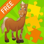Kids Jigsaw Puzzle Horses - Fr