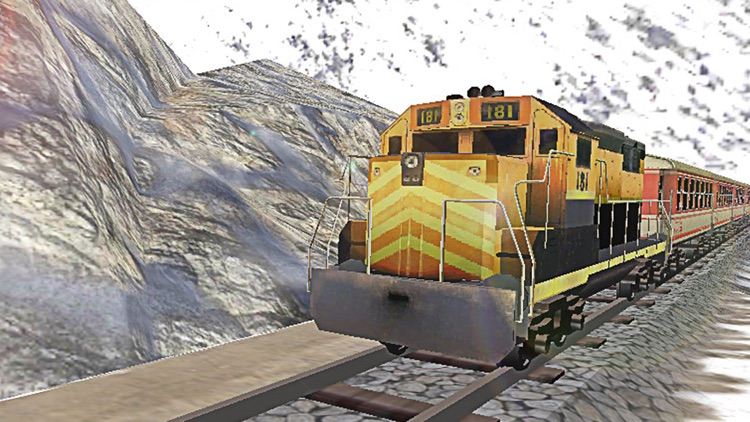 Train Driving 3D. The Locomotive Driver Journey Simulator 2016 screenshot-3