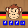 Rechtschreibung mit Chimpy Deutsch - Deutsche Wörter lesen und schreiben