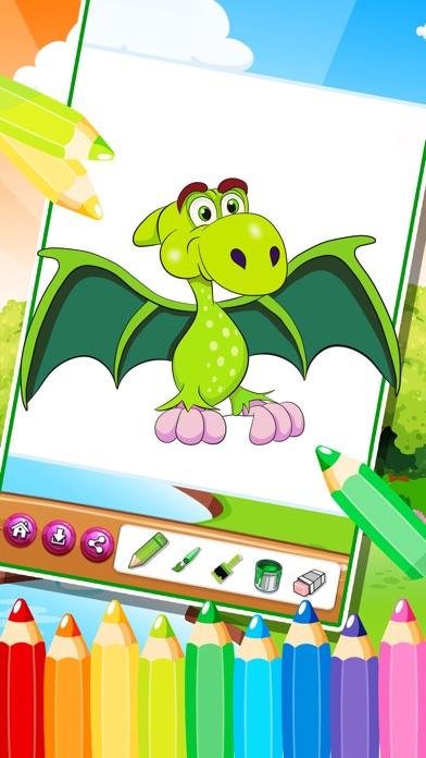 こどものぬりえ 子供向けの塗り絵お姫様動物恐竜知育アプリ