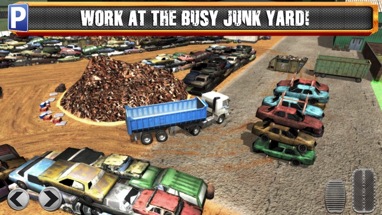 Junk Yard Trucker Parking Simulator a Real Monster Truck Extreme Car Driving Test Racing Sim screenshot-2