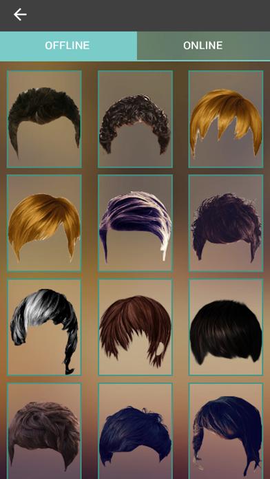 Man Hair Style Changer