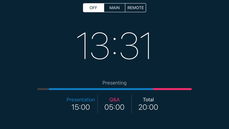 PresenTimer - a true timer for presentation screenshot-4