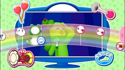 「おかあさんといっしょ・みいつけた」の赤ちゃん・子供向け知育アプリ リズムあそびスクリーンショット