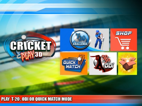 Cricket Play 3D - Live The Game (World Pro Team Challenge Cup 2016)-ipad-1
