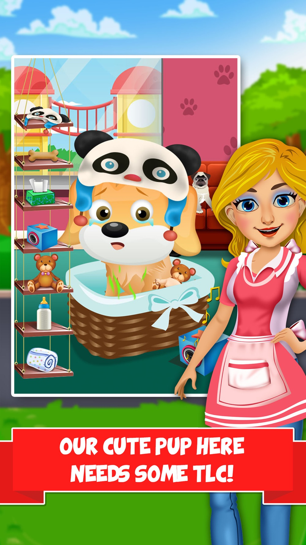 Mommy's Baby Pet Care Salon – Fun Food Cooking Spa & Makeover Maker Games for Kids! Cheat Codes