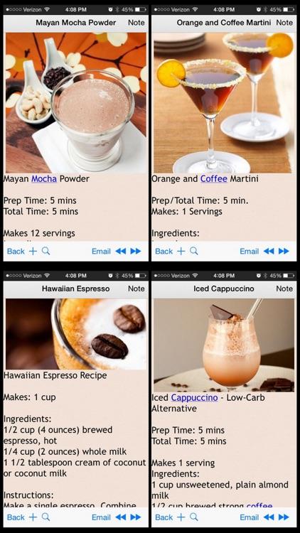 Coffee Recipes Plus+ screenshot-3