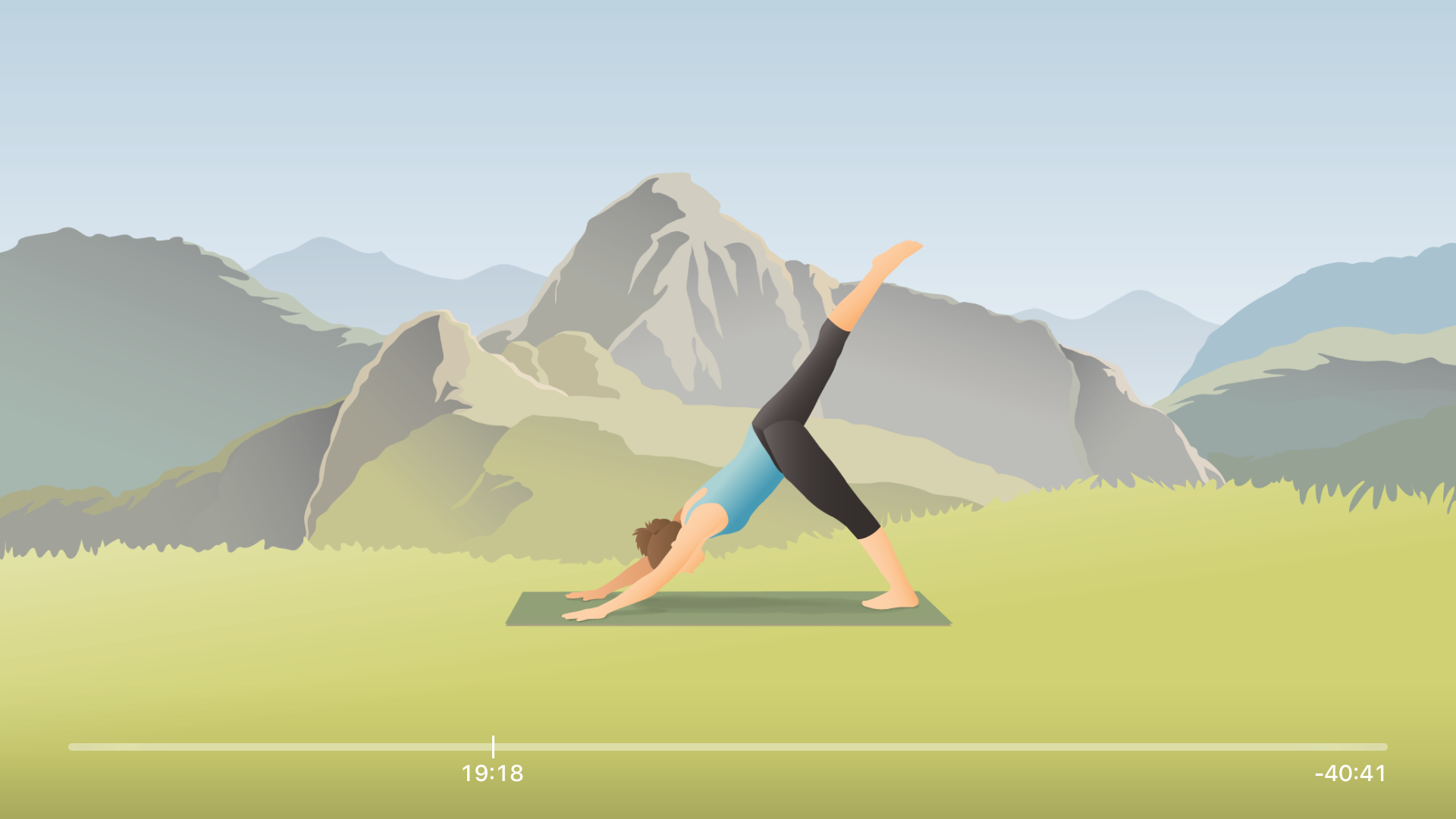 Pocket Yoga for TV screenshot 4