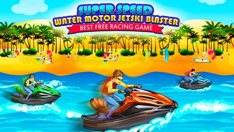 Super Speed Water Motor Jetski Blaster Pro - Best Free Racing Game