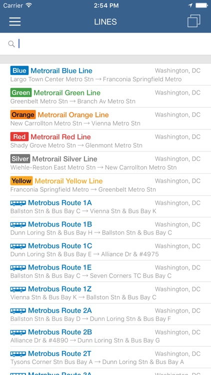 ezRide Washington Metro - Transit Directions for Bus and Subway including Offline Planner screenshot-4