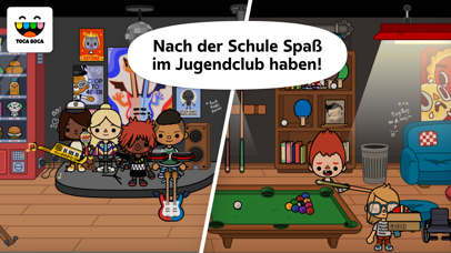 Screenshot for Toca Life: School in Germany App Store