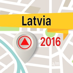 Latvia Offline Map Navigator and Guide