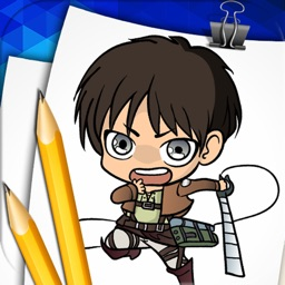 Step by Step Draw for Attack on Titan