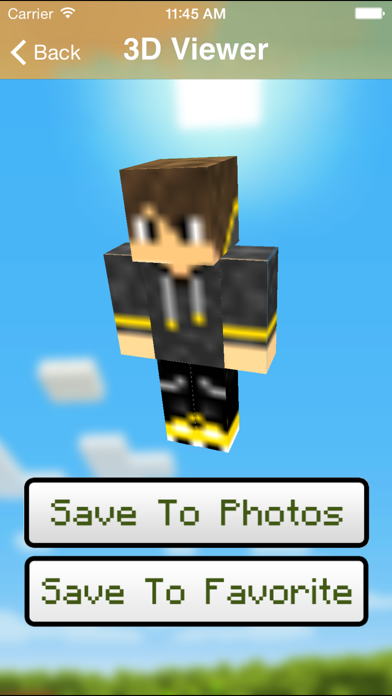 Boys Skins for Minecraft pe screenshot two