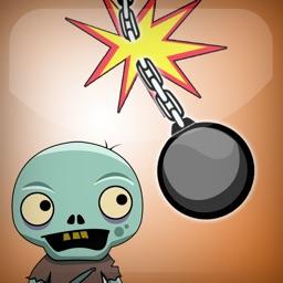 Crazy Chain Cut - Kill Zombie Edition