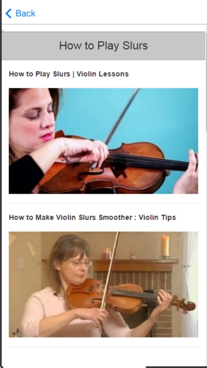 How to Play the Violin and Violin Basics screenshot-4