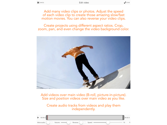 Screenshot #2 for Videocraft - Best Video Editor Photo Slideshow