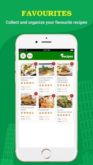 Italian food pro the best of italian food recipes on the app store forumfinder Images