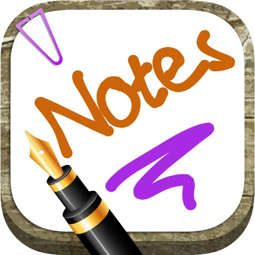 Write notes on the screen with the fingers