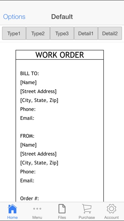 Work Order screenshot-0