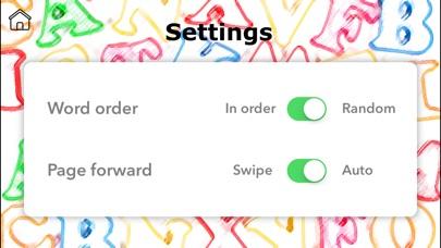 Screenshot #10 for Instant Words by Teach Speech Apps