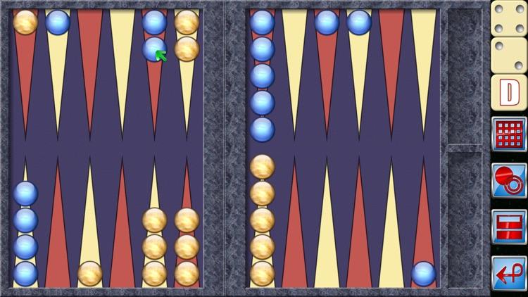 Backgammon V+ screenshot-3