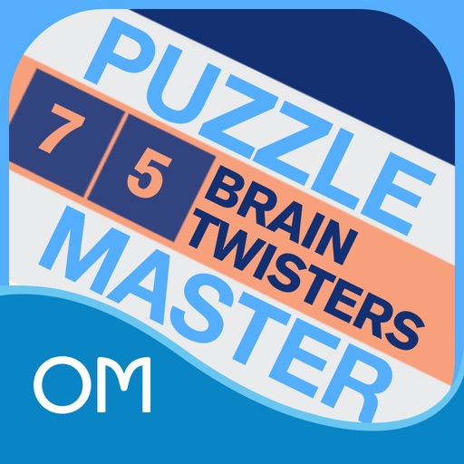 Puzzlemaster Deck - 75 Brain Twisters - Will Shortz icon