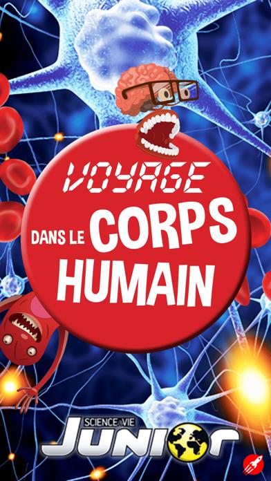 Voyage dans le corps humain - Un jeu Science et Vie Juniorのおすすめ画像1