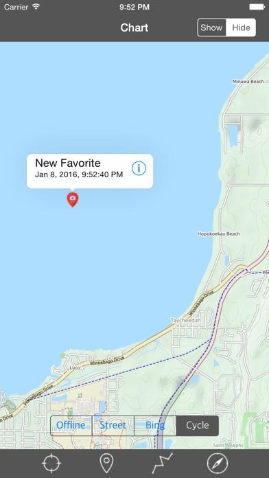 Lake Winnebago Wisconsin Raster Nautical Charts App