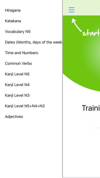Japanese Training Quiz Hiragana Katakana & Kanji | App Price Drops