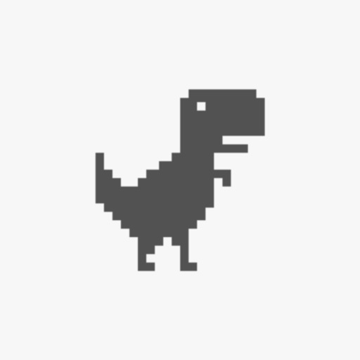 Steve - The Jumping Dinosaur Widget Game