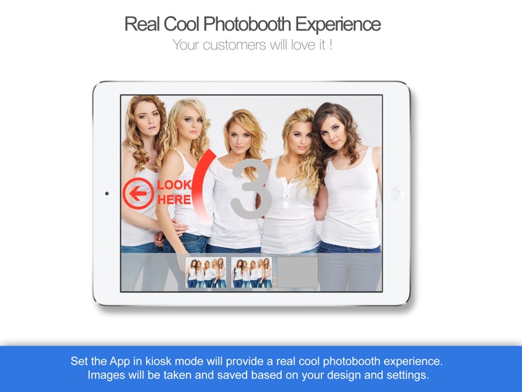 OneTap PhotoBox - professionel photo booth app - design, share and print collages, backgrounds, borders. Ideal for weddings and events screenshot-3