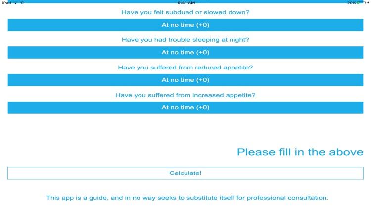 My Depression Test